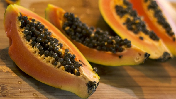 Papaya 8 Pieces = 60 kcal